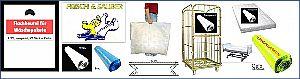 Tragetaschen, Polybeutel- Säcke, LDPE, HDPE