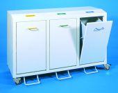3 -fach Sammler Innenbehälter 50 Liter und Abdeckplatte incl.