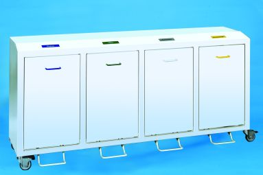 4 -fach Sammler Innenbehälter 50 Liter und Abdeckplatte incl.