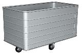 Transportwagen aus Leichtmetall BA 20-3 Aussenabmessungen 1030x630x770 mm