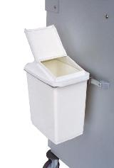 Halterung für Abfallbehälter, (rechteckig)